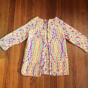 Other - Hand crocheted kinds cardigan